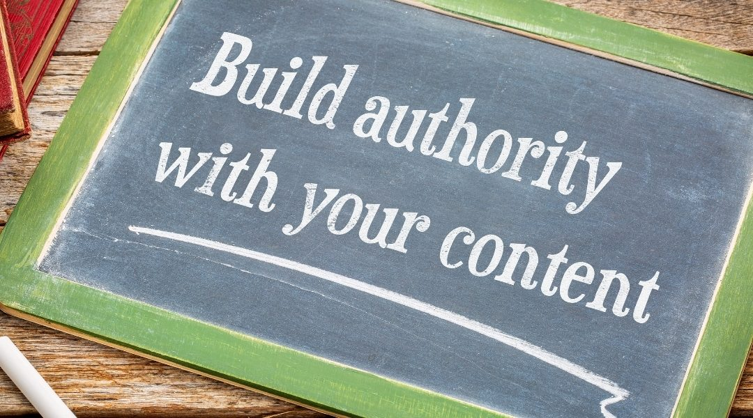 Build authority for your writing brand with quality content