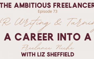 Turning A Career Into A Freelance Niche