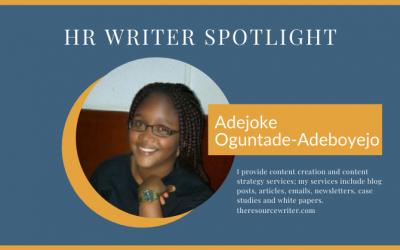 Adejoke Oguntade-Adeboyejo HR Writer